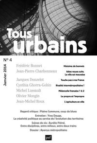 Frédéric Bonnet - Tous urbains N° 4, Janvier 2014 : .