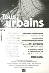 Frédéric Bonnet - Tous urbains N° 5, Mars 2014 : .