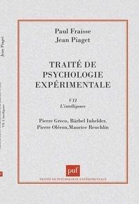 Jean Piaget - Traité de psycho - EXPERIMENTALE F.07.