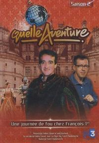 Frédéric Courant - Une journée de fou chez François Ier - DVD vidéo.