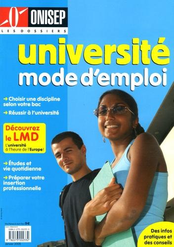 ONISEP - Université mode d'emploi.