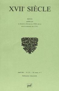 Marc Hersant et Michael Hawcroft - XVIIe siècle N° 231, Avril 2006 : .