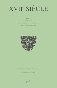 Jean-Charles Darmon et Gianni Paganini - XVIIe siècle N° 233, Octobre-Déce : Pierre Gassendi - Journée d'étude de la Société d'étude du XVIIe siècle.