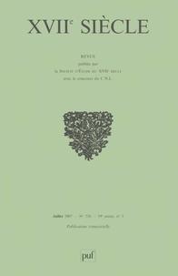 Emmanuel Bury - XVIIe siècle N° 236, Juillet-Sept : Trente ans de recherches rhétoriques.