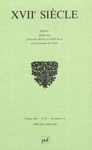 Yves Giraud et Brigitte Gauvin - XVIIe siècle N° 241, octobre-déce : .