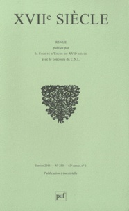 Jean-Yves Vialleton - XVIIe siècle N° 250, janvier-mars : La bohème au XVIIe siècle.