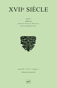 XVIIe siècle N° 282, janvier 2019.pdf