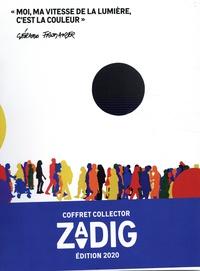 Eric Fottorino - Zadig  : Coffret en 4 volumes : N° 5, Ces maires qui changent la France ; N° 6 Besoin d'Outre-mer ; N° 7, Changer de vie ; N° 8, Manger mieux.