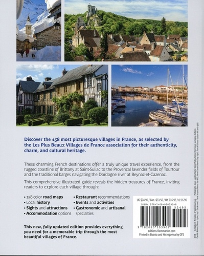 The Most Beautiful Villages of France. The Official Guide  Edition 2019