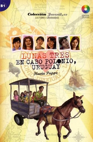 Flavia Puppo - Lunas Tome 3 : En Cabo Polonio, Uruguay - B1. 1 CD audio