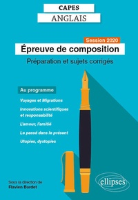 Flavien Bardet - CAPES anglais - Epreuve de composition, session 2020.