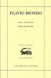 Rome restaurée - Tome 1, Livre 1, édition bilingue français-latin.pdf