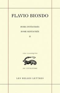 Rome restaurée - Tome 2, Livres 2 et 3.pdf