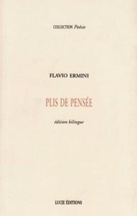 Flavio Ermini - Plis de pensée.