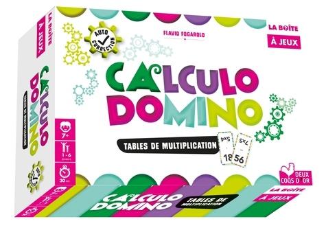 Calculo domino. Tables de multiplication