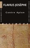 Flavius Josèphe - Contre Apion.
