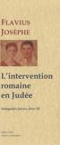 Flavius Josèphe - Les Antiquités juives - Livre XIV, L'intervention romaine en Judée.