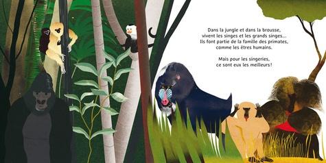 Les p'tits singes. Les primates