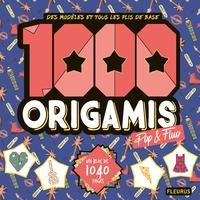 Fleurus - 1000 origamis pop et fluos.