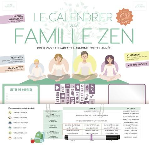 Fleurus - Le calendrier de la famille zen.