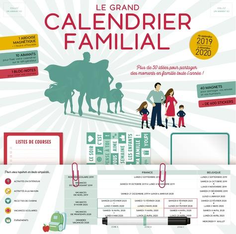 Fleurus - Le grand calendrier familial - A vec 1 feutre.
