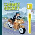 Fleurus - Mon carnet secret (agent secret et moto) - Avec un stylo à encre invisible et un cadenas à code chiffré !.