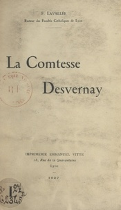 Fleury Lavallée - La comtesse Desvernay.