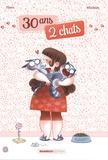 Flora et  MiniKim - 30 ans 2 chats Tome 1 : .
