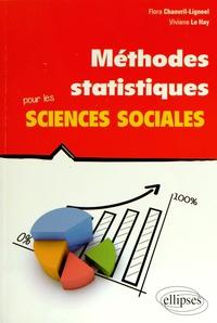 Flora Chanvril-Ligneel et Viviane Le Hay - Méthodes statistiques pour les sciences sociales.