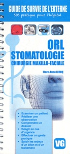 Flore-Anne Lecoq - Orl, stomatologie, chirurgie maxillo-faciale.