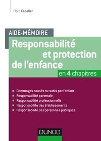 Responsabilité et protection de l'enfance - Flore Capelier pdf epub