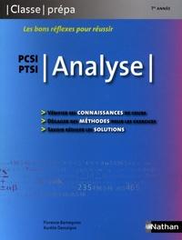 Florence Bantegnies et Aurélie Dessaigne - Analyse PCSI/PTSI.