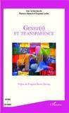 Florence Binard et Guyonne Leduc - Genre(s) et transparence.