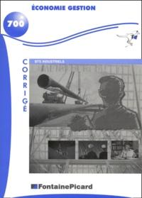 Economie gestion BTS industriels. - Corrigé.pdf