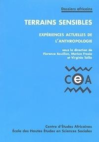 Florence Bouillon et Marion Fresia - Terrains sensibles - Expériences actuelles de l'anthropologie.