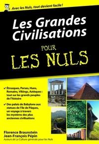 Téléchargeur de livres google gratuit pour Android Les grandes civilisations pour les nuls 9782754071321 en francais