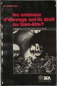 Florence Burgat - Les animaux d'élevage ont-ils droit au bien-être ?.