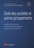 Florence Deboissy et Guillaume Wicker - Code des sociétés et autres groupements.