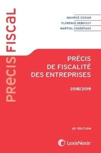 Florence Deboissy et Martial Chadefaux - Précis de fiscalité des entreprises.