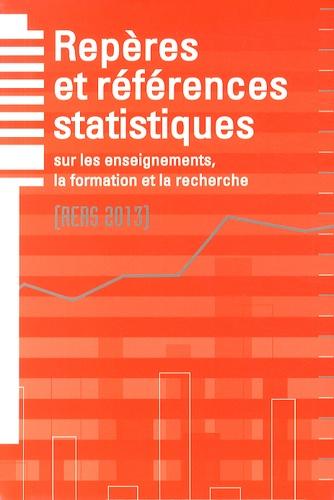 Florence Defresne - Repères et références statistiques sur les enseignements, la formation et la recherche.
