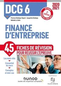 Florence Delahaye-Duprat et Nathalie Le Gallo - DCG 6 Finance d'entreprise - Fiches de révision - 2020/2021 - Réforme Expertise comptable.