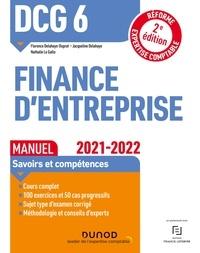 Florence Delahaye-Duprat et Jacqueline Delahaye - DCG 6 Finance d'entreprise - Manuel - 2e éd. - Réforme Expertise comptable.