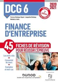 Florence Delahaye-Duprat et Nathalie Le Gallo - DCG 6 Finance d'entreprise - Fiches de révision.