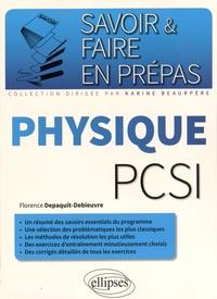 Florence Depaquit-Debieuvre - Physique PCSI.