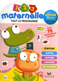 Florence Doutremépuich et Françoise Perraud - 1 2 3 Maternelle Moyenne Section 4-5 ans.