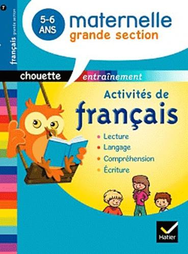 Activite De Francais Maternelle Grande Section 5 6 Ans