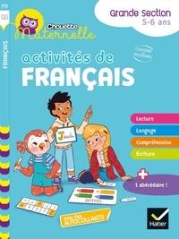Florence Doutremépuich et Françoise Perraud - Activités de français Grande Section Chouette maternelle.