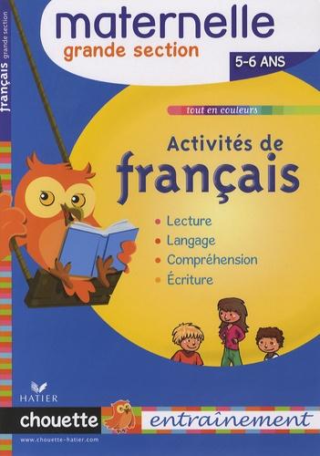 Activites De Francais Grande Section 5 6 Ans