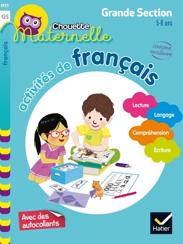 Activites De Francais Maternelle Grande Section 5 6 Ans Grand Format