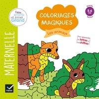 Florence Doutremépuich et Françoise Perraud - Coloriages magiques les animaux - Maternelle Grande section.